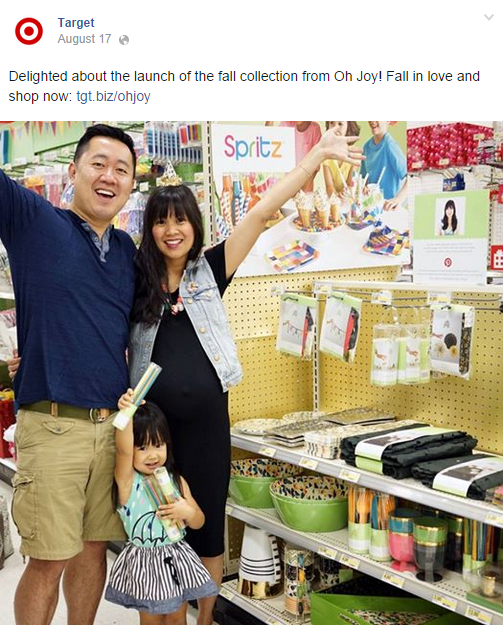Target Facebook Post