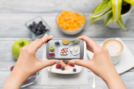 Smartphone Photo of Food