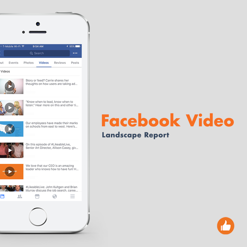 Facebook Video Landscape