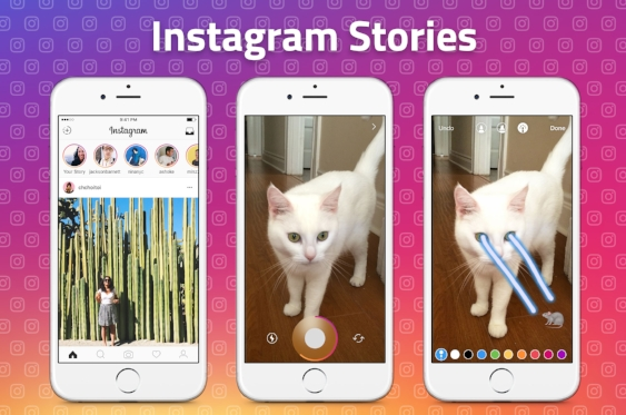 Instagram Stories Example