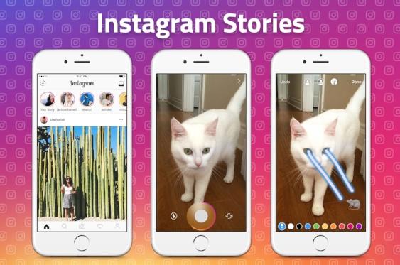 Instagram Stories Example