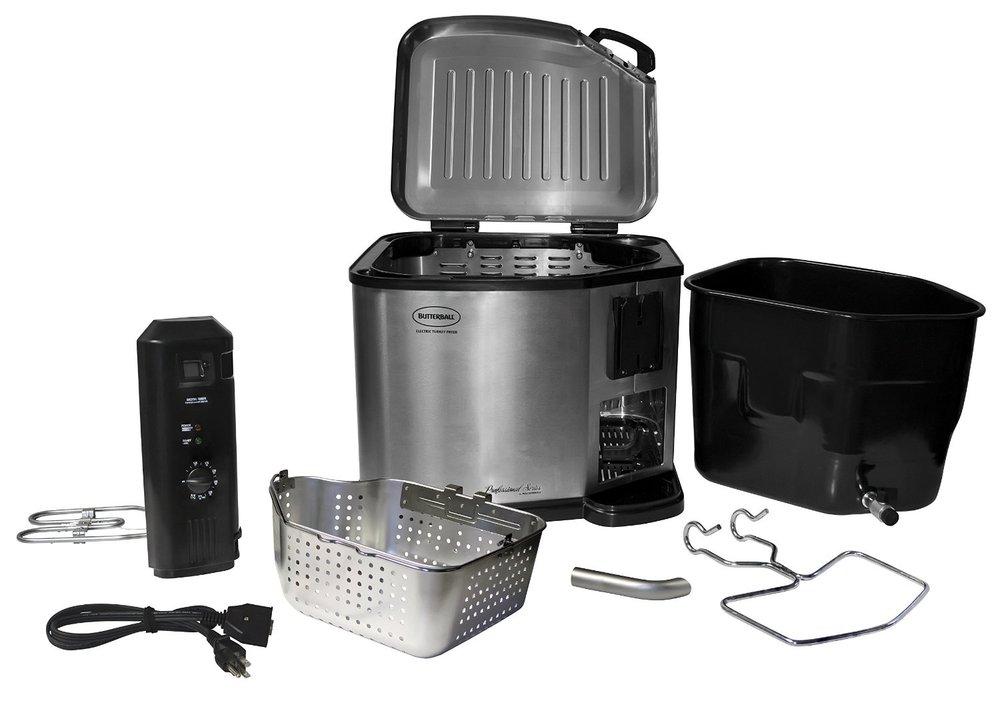 Electric Turkey Fryer Food Boiler Veggie Steamer The