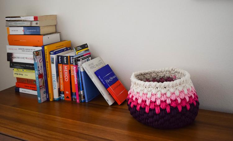 ganxxet basket pink dahlia