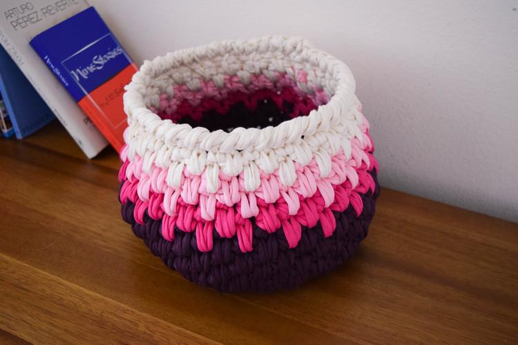 ganxxet t-shirt yarn basket