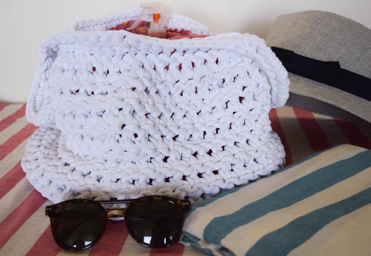 Ganxxet yarn summer tote