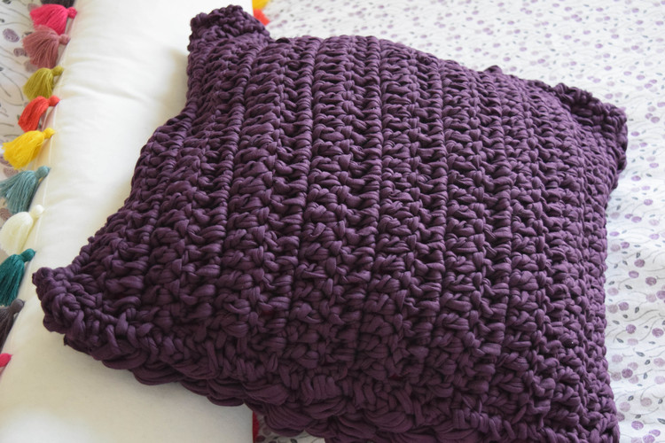 doble crochet stitch fabric yarn ganxxet