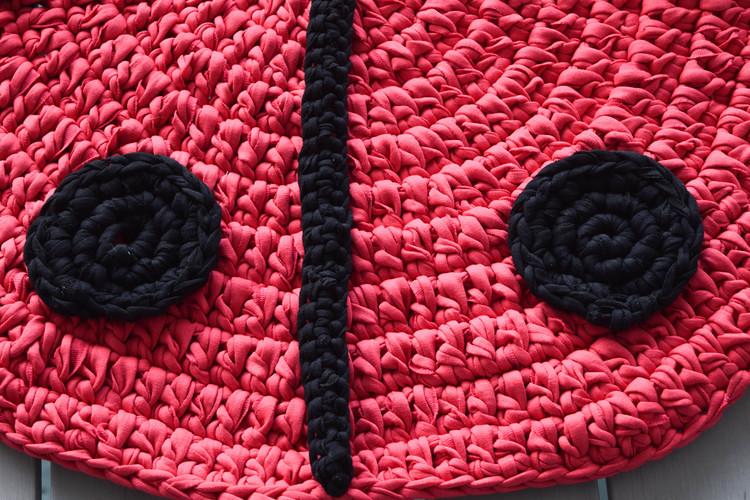 detail ganxxet fabric yarn
