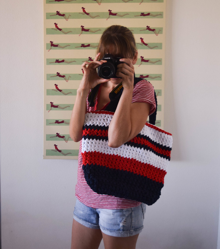 ganxxet fabric yarn summer bag