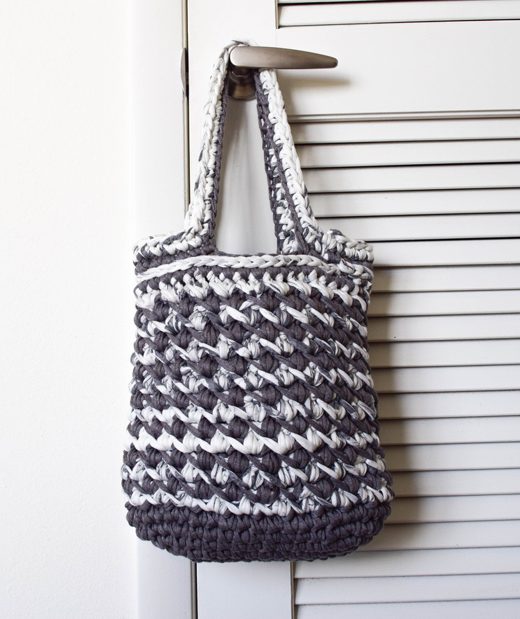 ganxxet fabric yarn handbag