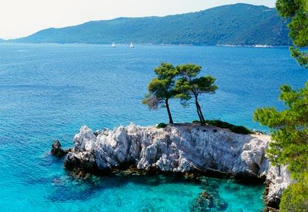 "Kastani Beach, Skopelos Island, Greece -""Mamma Mia!"""