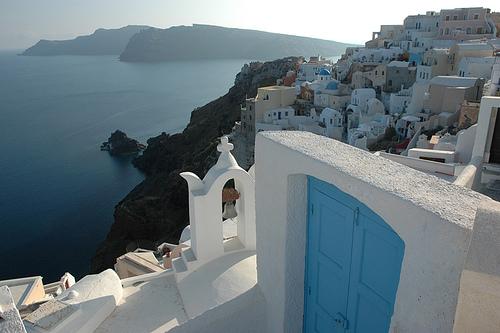 "Santorini, Greece - ""Sisterhood of the Travelling Pants"""
