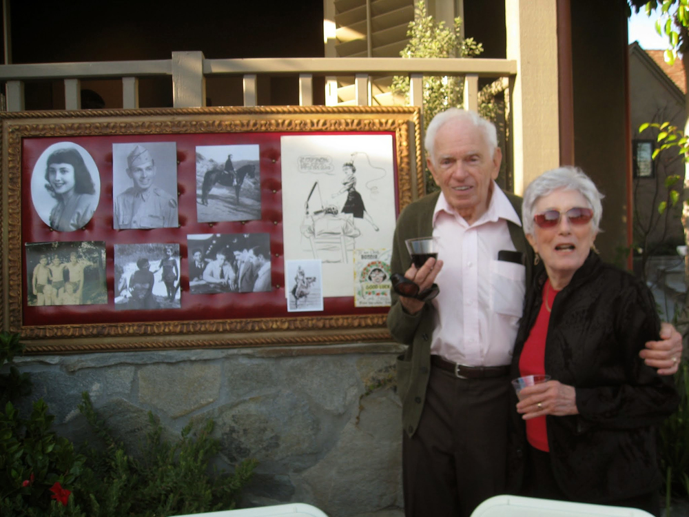 Bonnie and Arnold Hano, Villagers of the Year in 2009