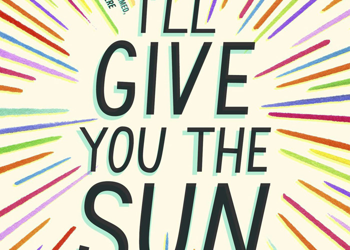 From the cover of  I'll Give You the Sun .