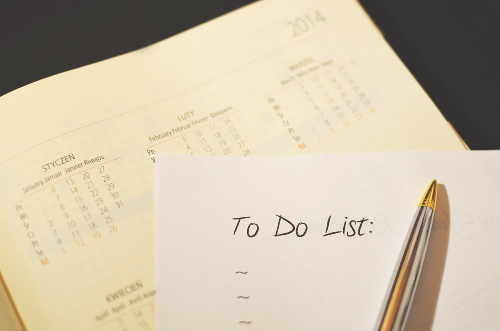 "Year-end ""To Do"" List"
