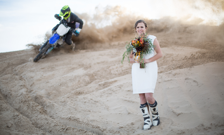 modern wedding and unique couple for rings unusual the motocross