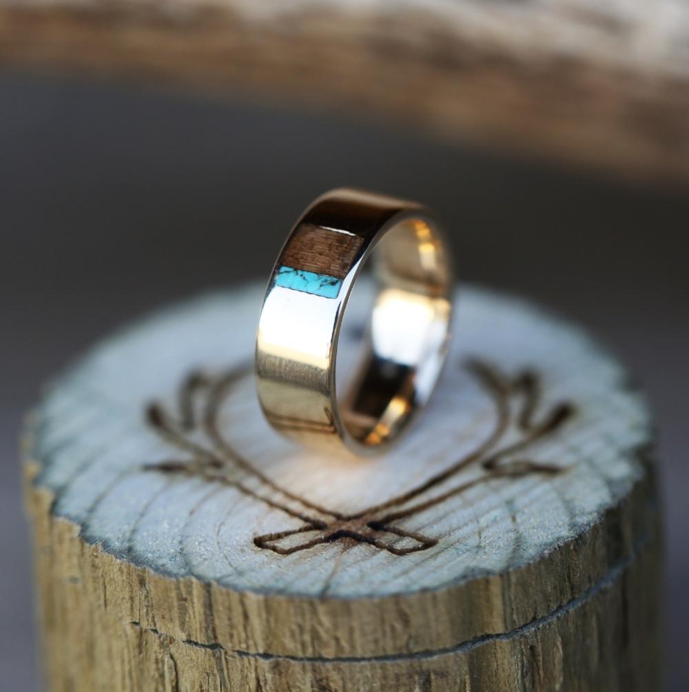 WOOD ANTLER RINGS Staghead Designs Design Custom Wedding Bands