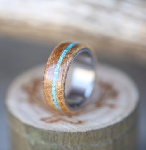 TURQUOISE RINGS — Staghead Designs | Design Custom Wedding Bands ...