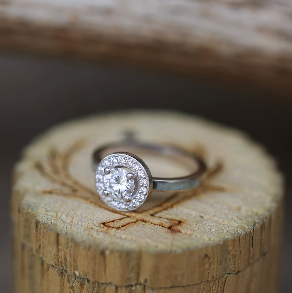 WOMENS ENGAGEMENT WEDDING RINGS Staghead Designs Design