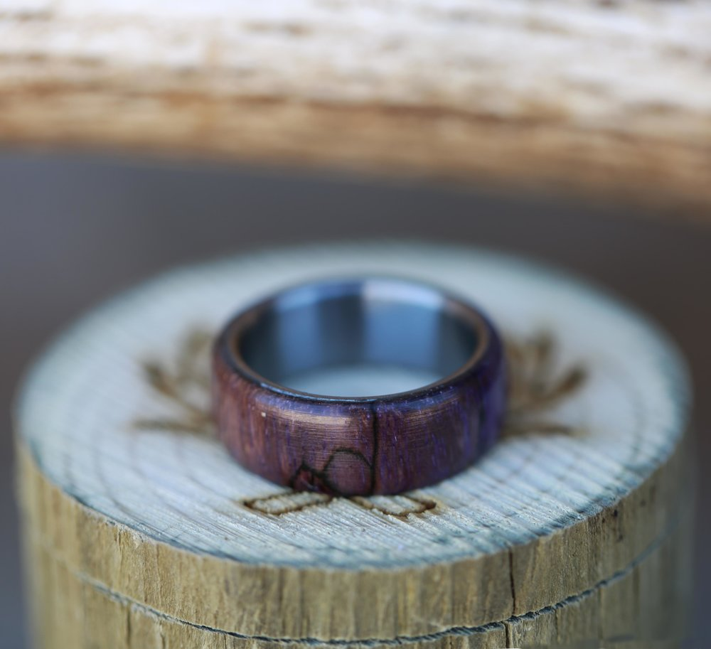 WOOD ANTLER RINGS Staghead Designs