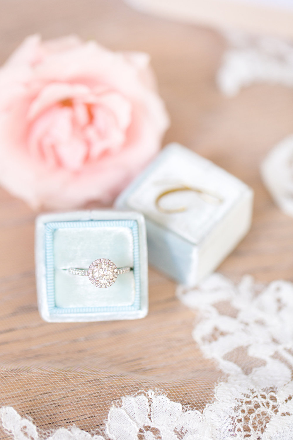 Women's Wedding Ring by Staghead Designs. Photo by Amy and Jordan Photography.