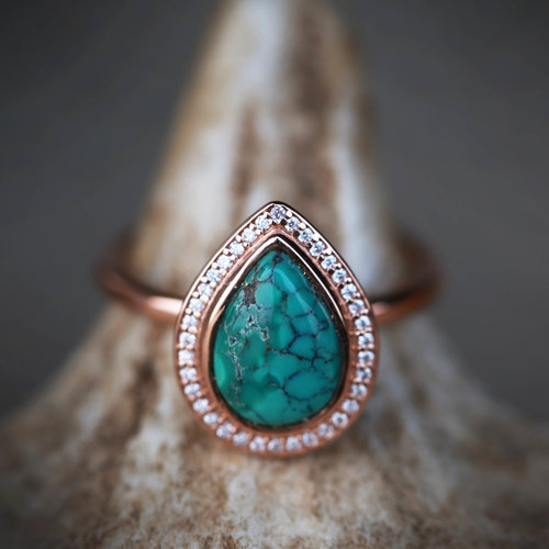 ring gold rings diamond turqwed s turquoise mm jewelry wedding engagement danny western