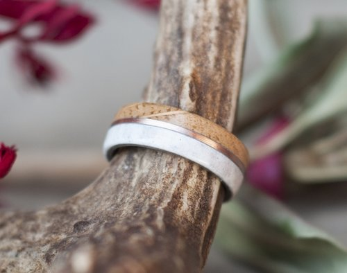 Whiskey Barrel Rings Staghead Designs Design Custom Wedding