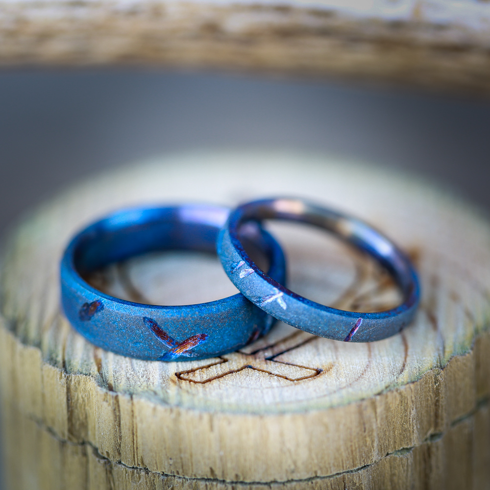 MATCHING RING SETS Staghead Designs Design Custom Wedding Bands