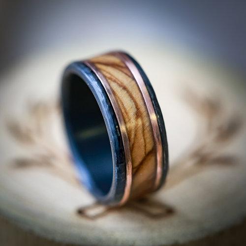 a210027b856c Trendy Rings, Trendy Rings For Men, Rustic Wedding RIng For Men, Men's  Rusting
