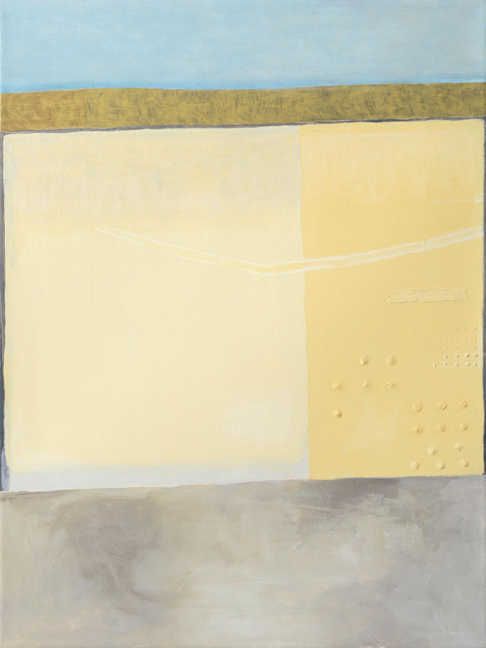 Yellow Topography One