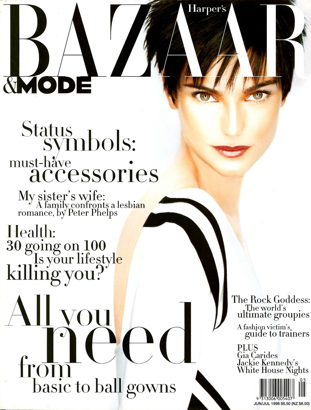Harper's Bazaar & Mode June_July 1998_COVER.jpg