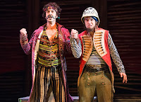Mattfeld (Blackstache) and Galligan-Stierle (Smee), 2013 Peter and the Starcatcher