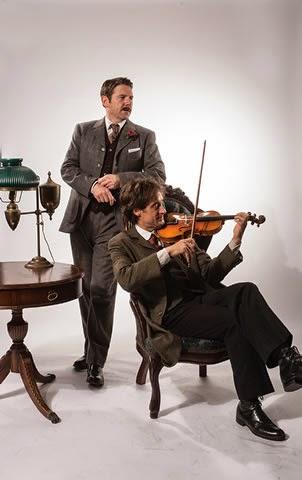 Vaughn as Watson& Adams as Holmes