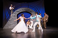 A scene from USF's touring production of Romeo and Juliet.