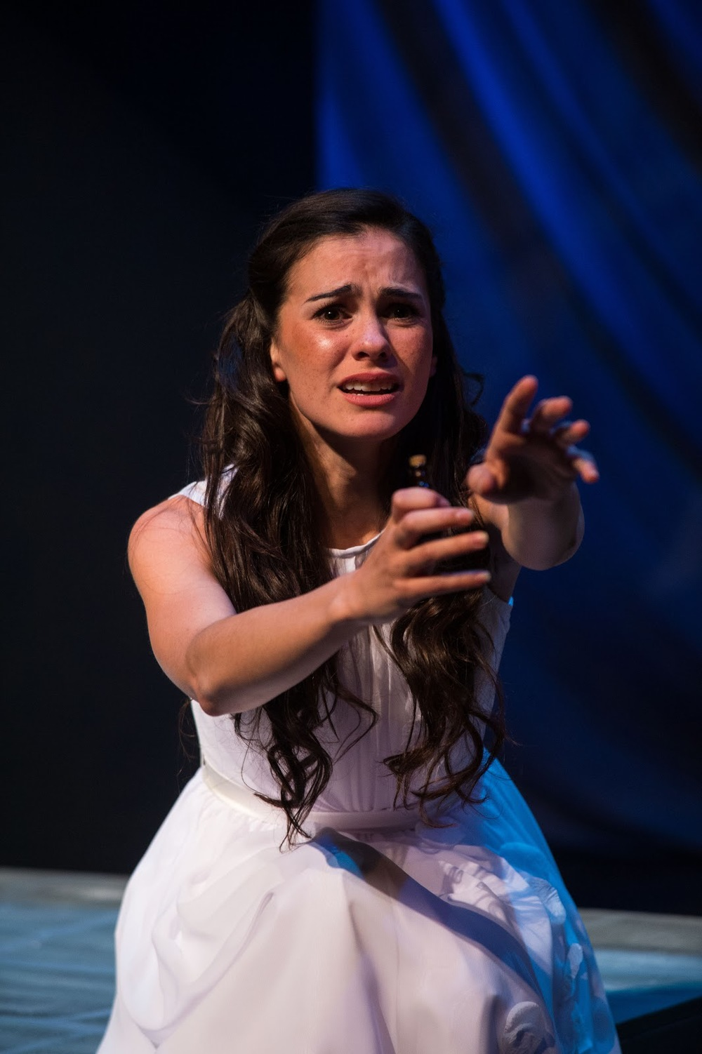 Melisa Pereyra as Juliet in  Romeo and Juliet.