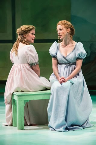 Eva Balistrieri (left) as Marianne Dashwood and Cassandra Bissell as Elinor Dashwood in Sense and Sensibility
