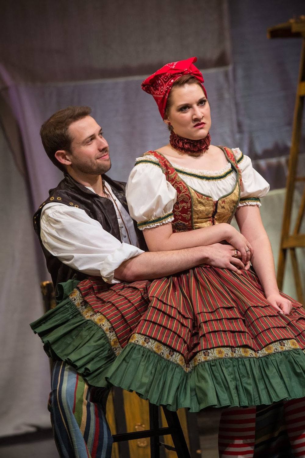 Littman (Petruchio) & Hill (Kate)