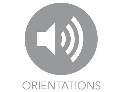 AUDIO ORIENTATION