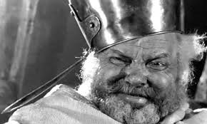 Orson Welles as Fallstaff