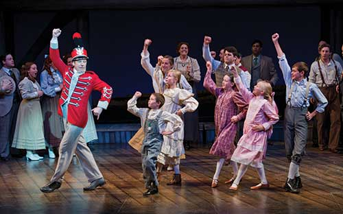 A scene from  The Music Man,  2011.