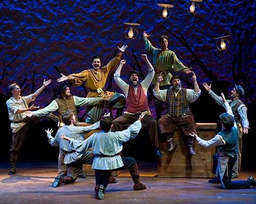 A scene from  Fiddler on the Roof,  2008.