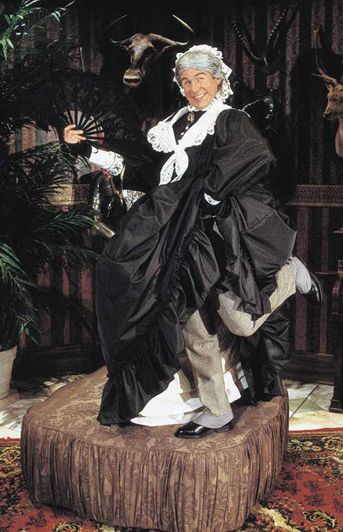 Brian Vaughn as Lord Fancourt Babberley in  Charley's Aunt,  1997.