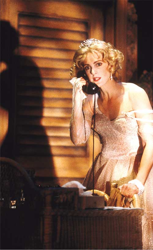 Kate Fuglei as Blanche in A Streetcar Named Desire, 1994.