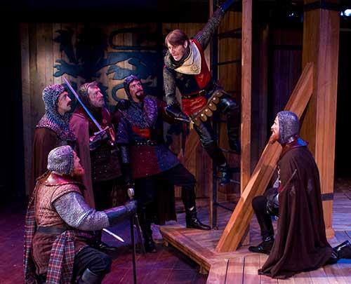 A scene from  Henry V,  2009.