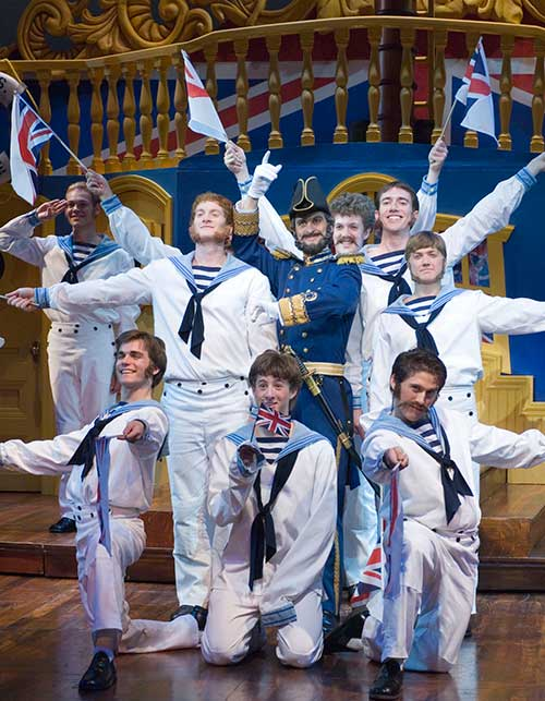 A scene from the Utah Shakespearean Festival's 2006 production of H.M.S. Pinafore.