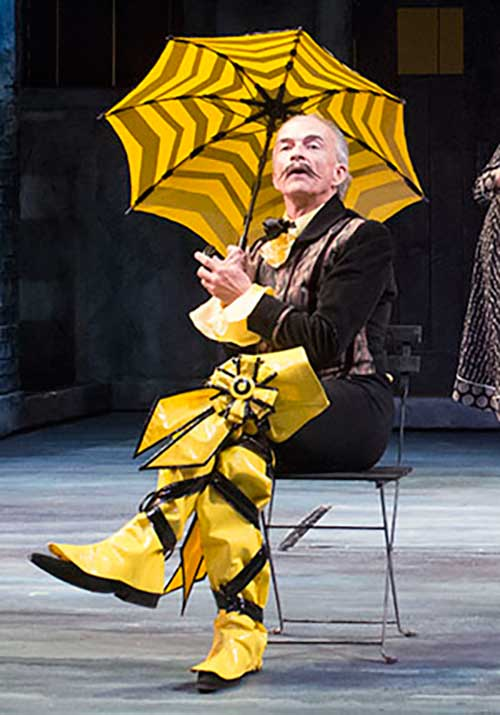 David Pichette as Malvolio in Twelfth Night, 2014.