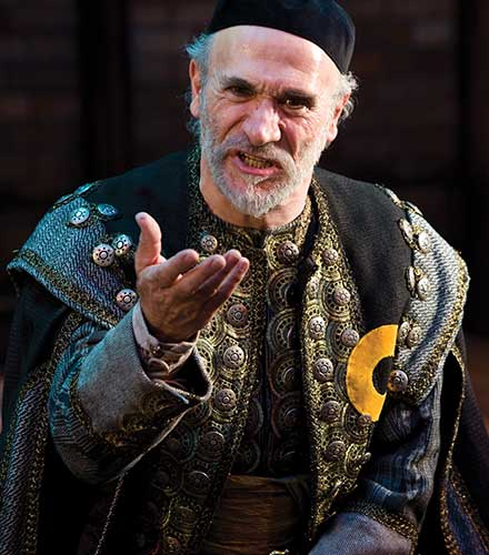 Tony Amendola as Shylock in T he Merchant of Venice,  2010