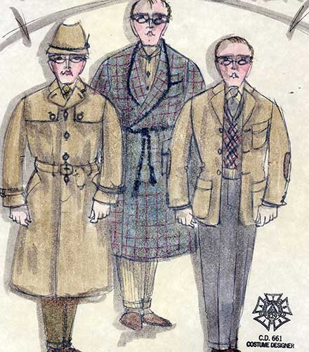 Charlie costume design by David Kay Mickelsen