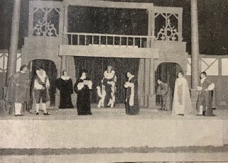 The Festival's first production of  The Merchant of Venice  in 1962