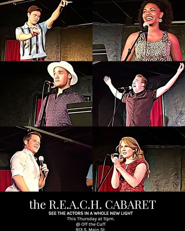 Join some of the acting company tomorrow night at the R.E.A.C.H. Cabaret!