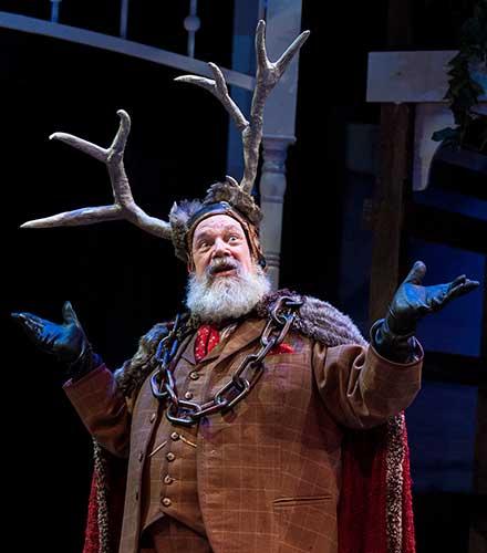 John Ahlin as Sir John Falstaff